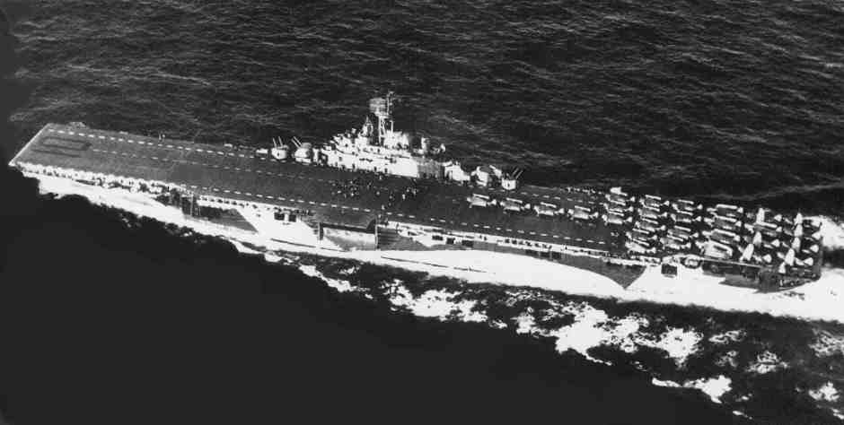 The 1943 Essex Class Yorktown